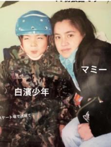 白濱亜嵐とラブリの母親